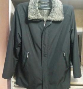 Зимняя куртка на овчине