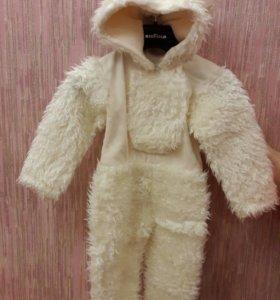 "Новогодний костюм"" Белый мишка"" на 1.6-2 года"