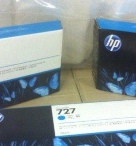 Картриджи HP 727