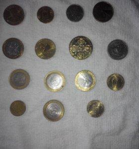 Монеты юбилейные, иностранные, старинные