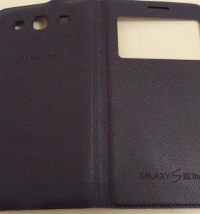 Оригинальный чехол на Samsung Galaxy s3 Duos