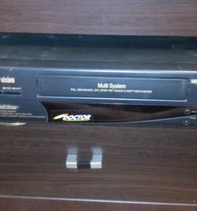 Видео магнитафон касетный
