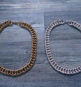 Металлические цепочки новые
