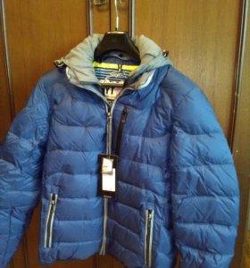 Куртка зима, пух, новая