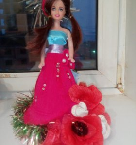 """Сладкая кукла """"Зимняя роза"""""""