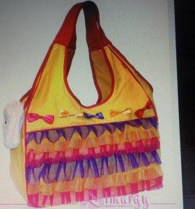 """Новая летняя сумка-переноска """"Рюши"""""""
