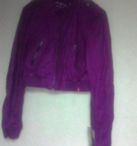 Куртка короткая новая