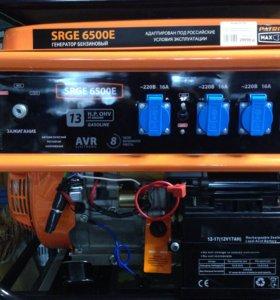 Генератор PATRIOT SRGE 6500 Новый! Со стартером!