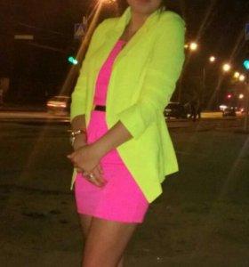 Платье, пиджак, набор