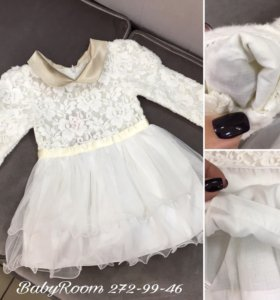 Нарядные платья-снежинки ❄️