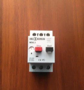 Автоматический выключатель защиты электродвигателя