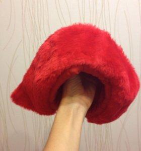 Костюм красной шапочки новогодний