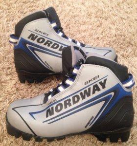 Детские ботинки для беговых лыж Nordway Skey