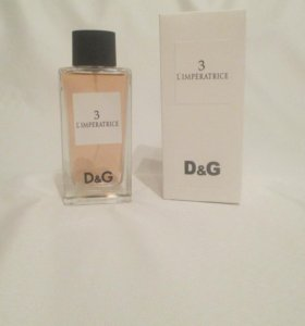 D&G 3 L'IMPERATRICE 100ml