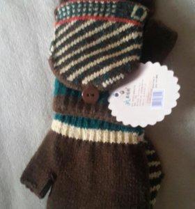 Новое варежки-перчатки