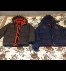 Куртки зимние на мальчика