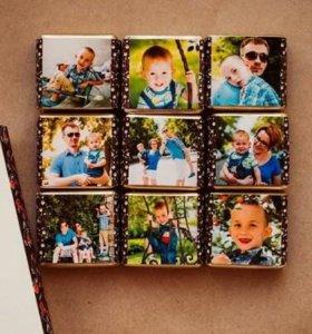 Конфеты с фотографией. Подарки