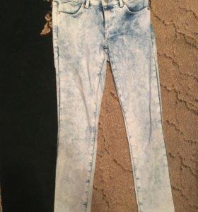 Topshop джинсы варенка средняя посадка