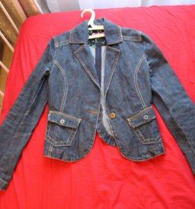 Пиджак джинсовый QS