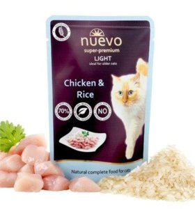 Nuevo Light корм для кошек с излишним весом