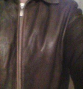 Кожанная куртка #NINO#