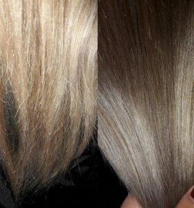 Полировка волос/ шлифовка волос