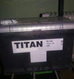 Аккумулятор Титан75