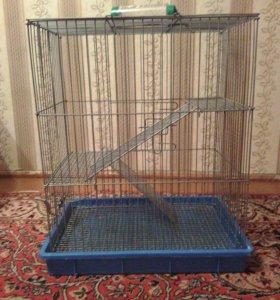 Клетка для шиншил и кроликов