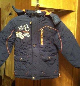 Детская весенне-осенняя куртка на мальчика