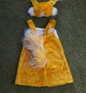 Новогодний костюм Белочка прокат