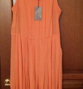 Платье шелковое новое