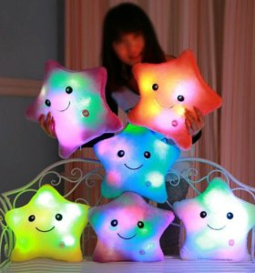 Светящаяся подушка 🌟 игрушка