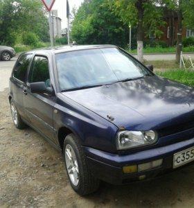 Volkswagen Golf 1.4МТ, 1997, купе