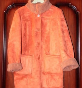 Куртка- дубленка из искусственного меха