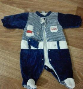 Одежда на мальчика для зимних прогулок
