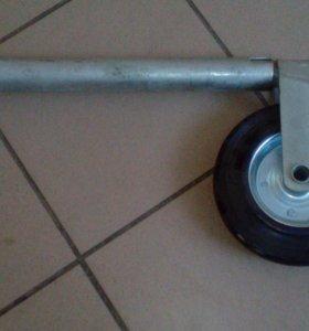 Подкатное колесо для прицепа