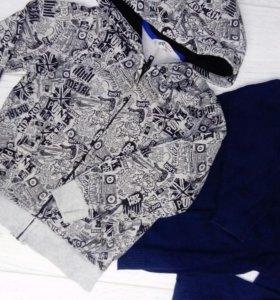 Джемпер и куртка на молнии