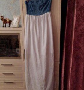 Платье белое S