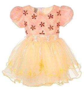 Платье на девочку 1,5-2 лет