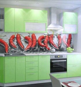 Кухонный гарнитур салат