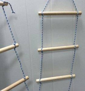 Лестница подвесная для лазания