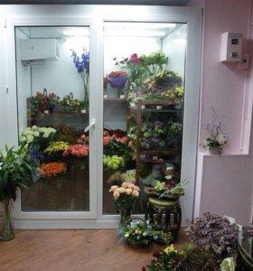 Холодильник-витрина для цветов