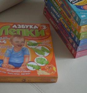 Детские наборы для творчества Азбука лепки