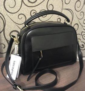 Женская кожаная сумка Mironpan