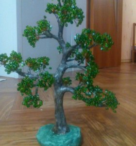 Сувениры из бисера. Деревья из бисера.