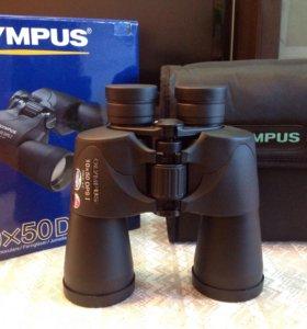 🎁Бинокль Olympus 10x50 DPS I новый