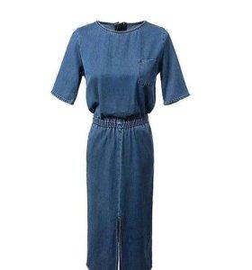 Джинсовое платье.