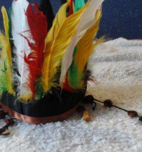 Костюм ковбоя-индейца
