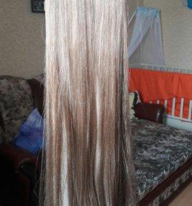 Накладные пряди волос 2 штуки