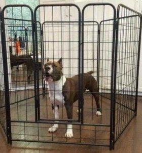 Квартирный вольер для средних и крупных собак